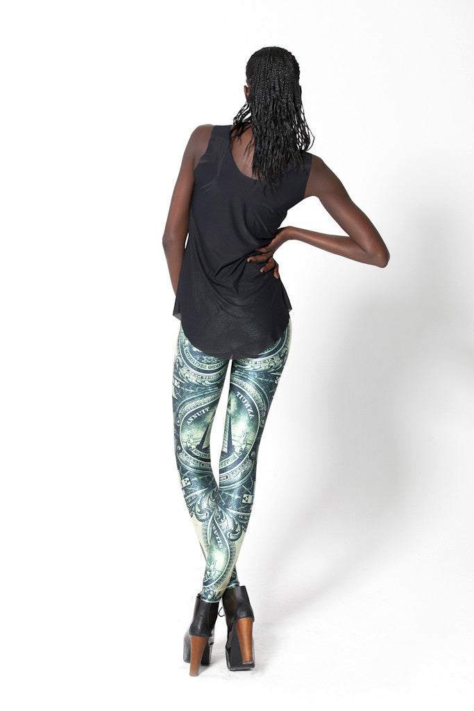 Leggings - Dollar Sexy Printed Leggings - Epic Leggings