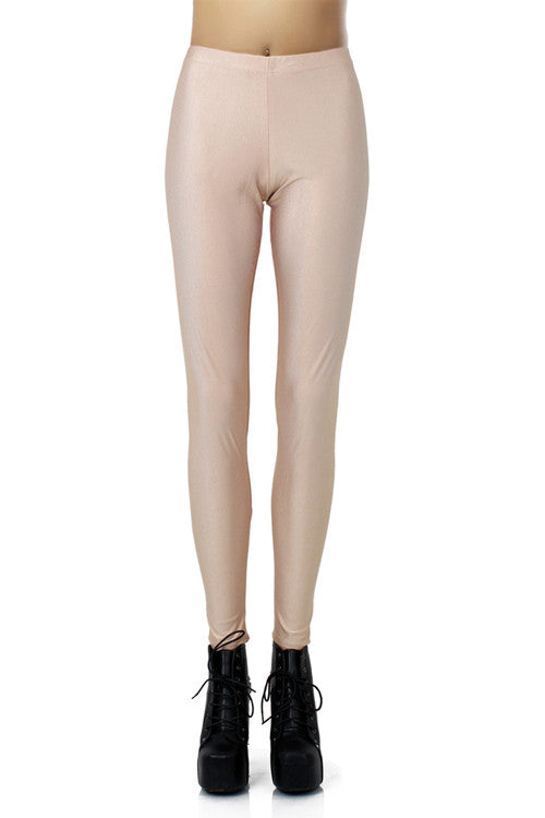 Leggings - Beige Pencil Leggings - Epic Leggings