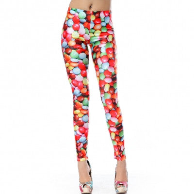 Leggings - Colorful Candy Jelly Bean Leggings - Epic Leggings