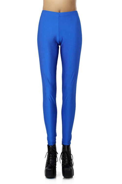 Leggings - Dark Blue Elastic Leggings - Epic Leggings