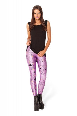 Leggings - Fancy Star Galaxy Print Leggings - Epic Leggings