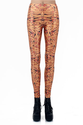 Leggings - High Waist Digital Print Galaxy Leggings - Epic Leggings