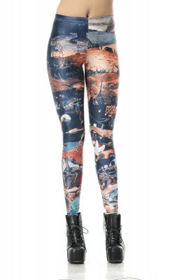 Leggings - High Waist Stretchy Pencil Leggings - Epic Leggings