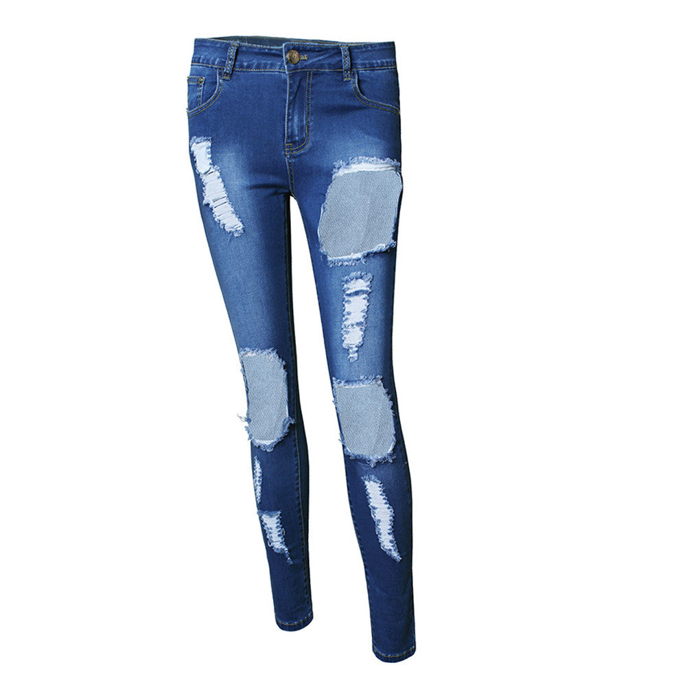 Leggings - Blue Push Up Jeans - Epic Leggings