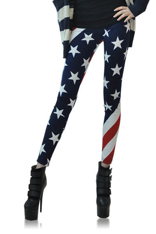 Leggings - America Flag Print Leggings - Epic Leggings