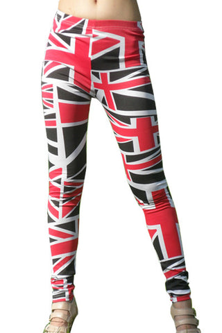 Leggings - British Flag Pattern Leggings - Epic Leggings