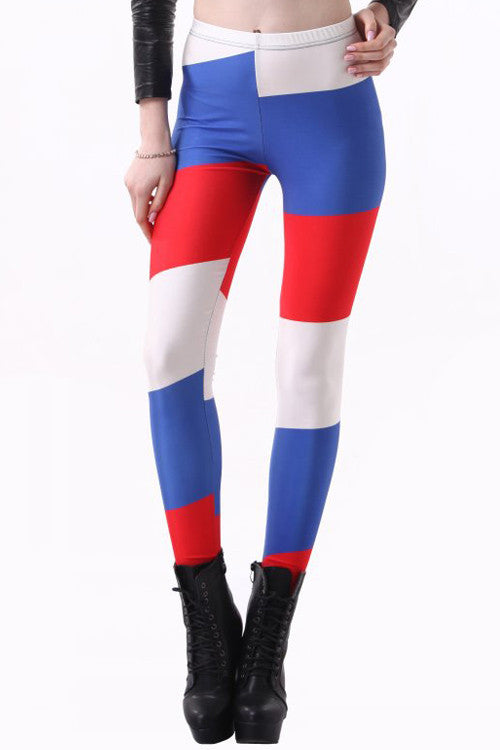 World Cup Russia Flag Leggings