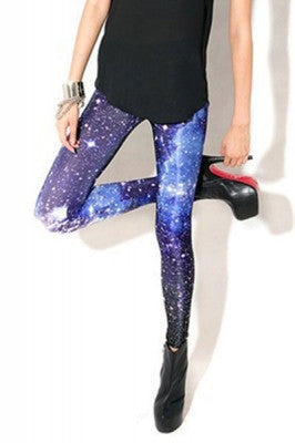 Leggings - High Waist Cosmic Galaxy Leggings - Epic Leggings
