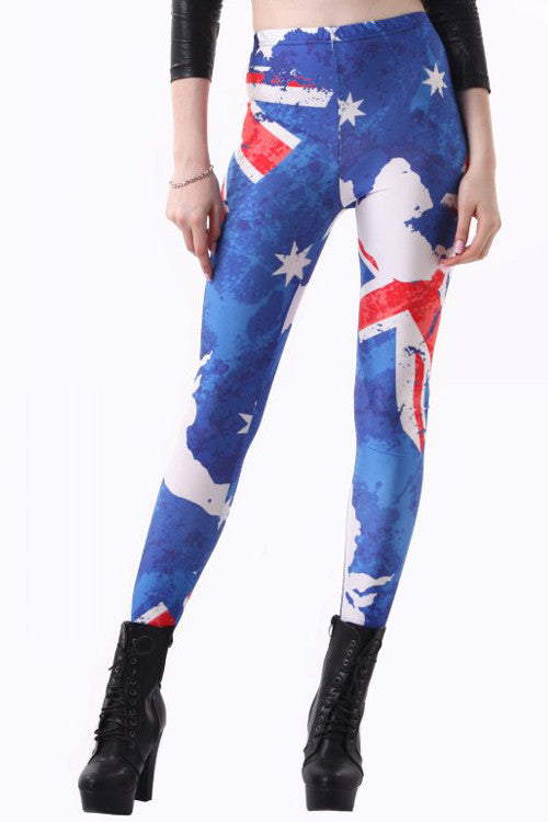 Leggings - Australia Flag Leggings - Epic Leggings