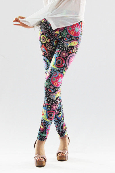 Leggings - Beautiful Painted Galaxy Leggings - Epic Leggings
