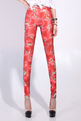 Strawberry Galaxy Leggings