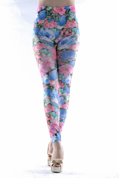 Leggings - Hot Girl Summer Floral Leggings - Epic Leggings