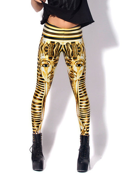 Leggings - Egyptian King Tut Leggings - Epic Leggings