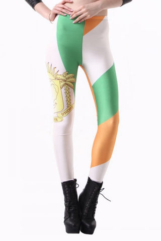 Leggings - Cote D'ivoire Leggings - Epic Leggings