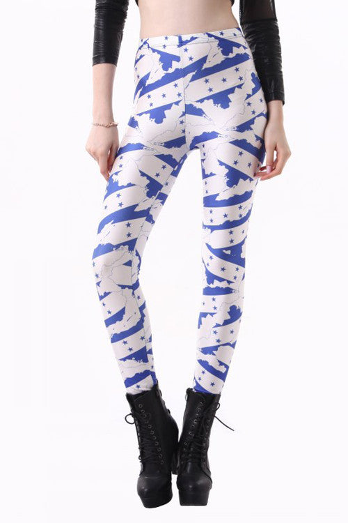Leggings - Honduras Flag Leggings - Epic Leggings