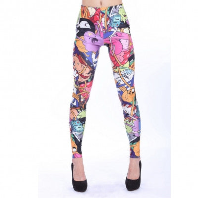 Leggings - Cartoon Print Leggings - Epic Leggings