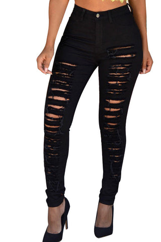 Leggings - Black Casual Jeans - Epic Leggings