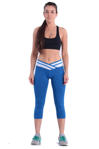 Leggings - Blue Skinny Pants - Epic Leggings