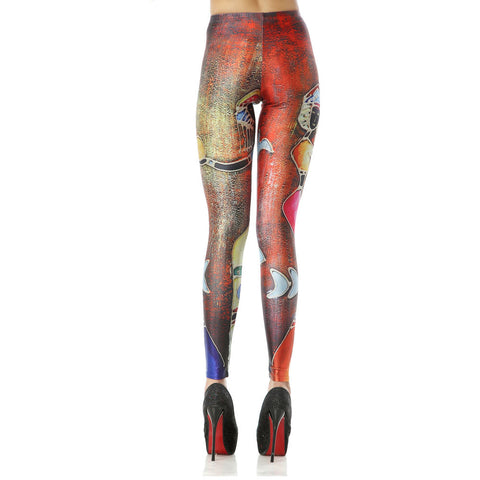 Leggings - African Art Themed Leggings - Epic Leggings