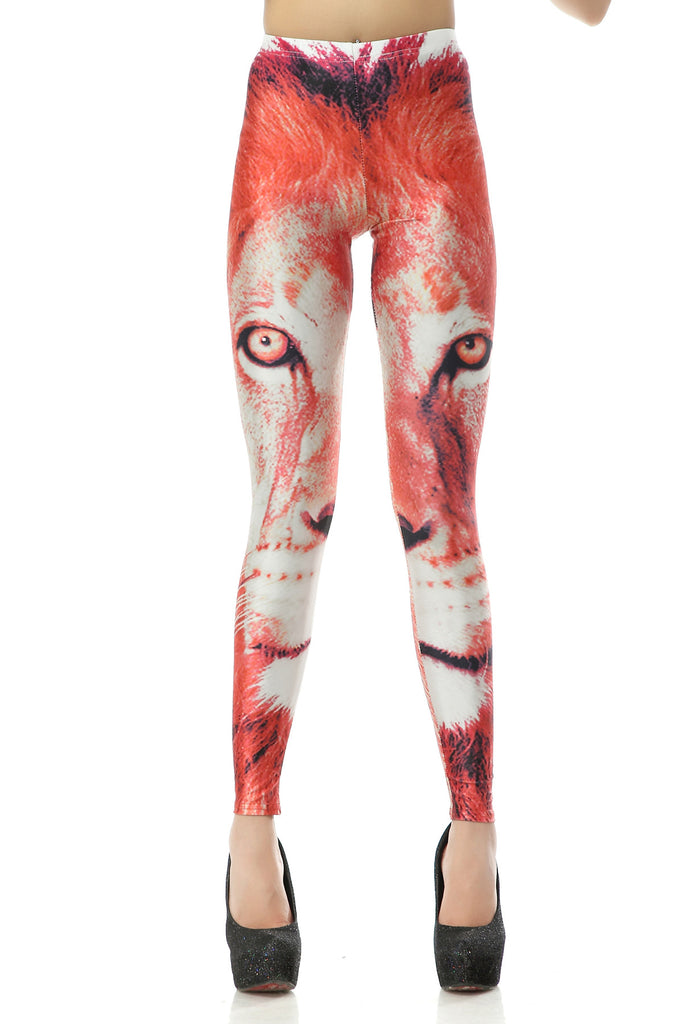 Leggings - Chic Leopard Head Leggings - Epic Leggings