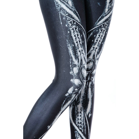 Leggings - Fashion High Waist Black Leggings - Epic Leggings