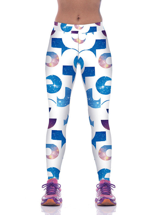 Leggings - Fashion Galaxy Sports Leggings - Epic Leggings