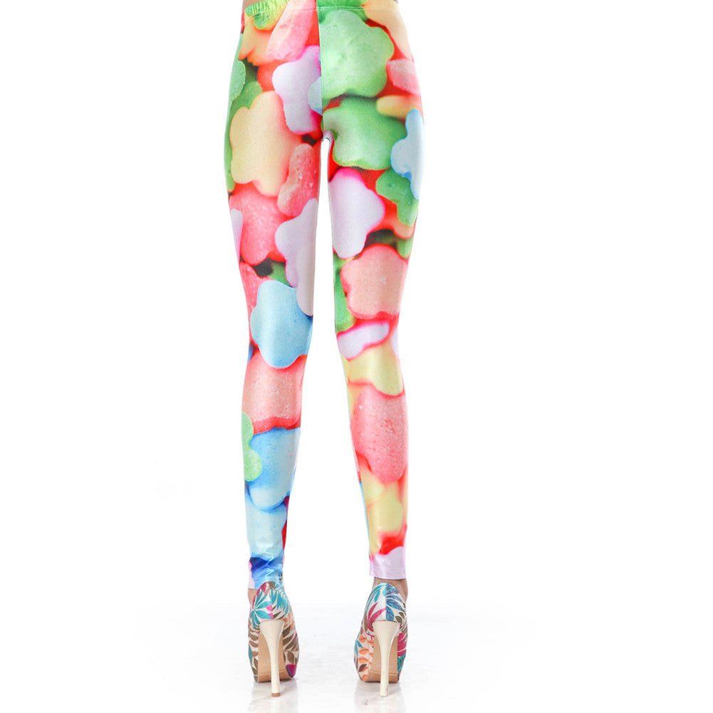 Leggings - Colorful Smile Leggings - Epic Leggings