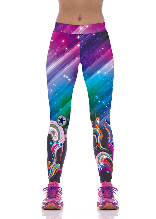Leggings - Galaxy Pattern Leggings - Epic Leggings
