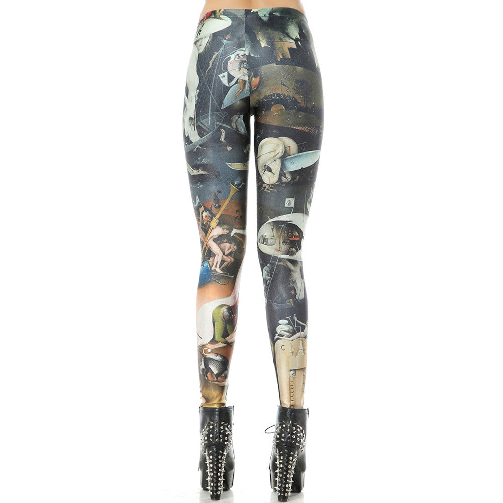 Leggings - Beautiful Alien Leggings - Epic Leggings