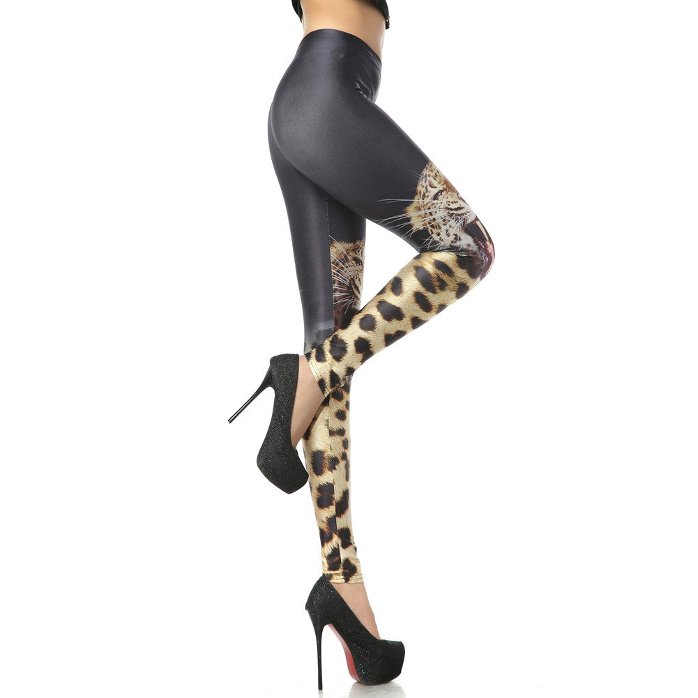 Leggings - Cool Tiger Print Leggings - Epic Leggings