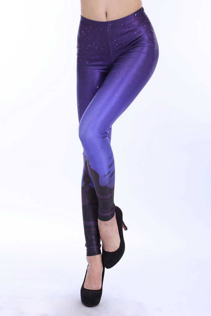 Leggings - Purple Firmament Leggings - Epic Leggings