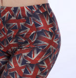 UK Flag Overall Printed Leggings