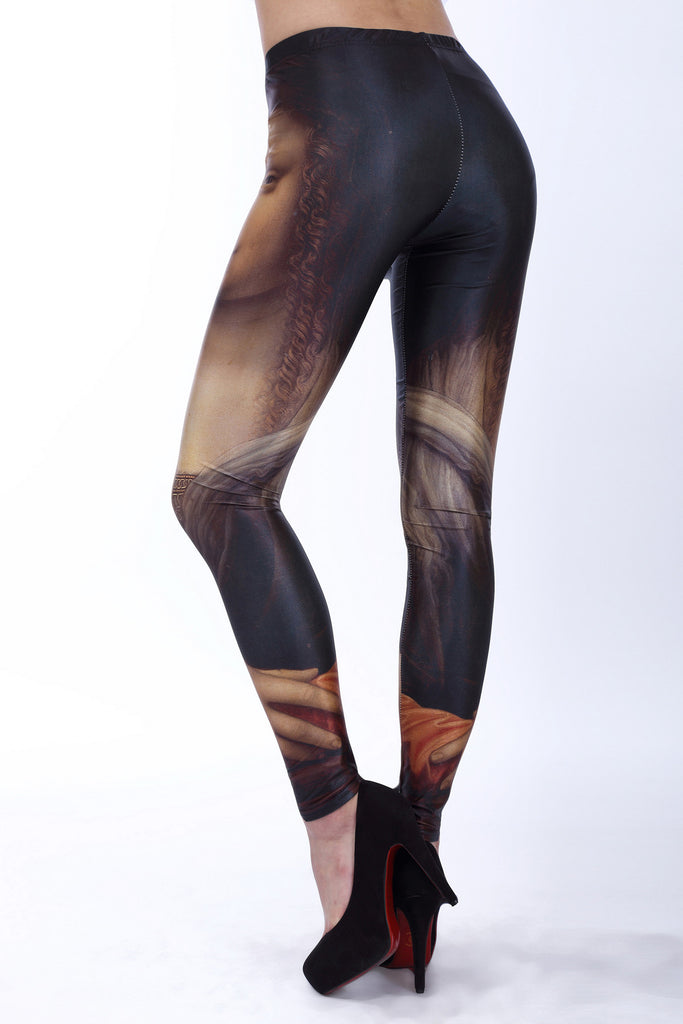 Leggings - Mona Lisa Leggings - Epic Leggings