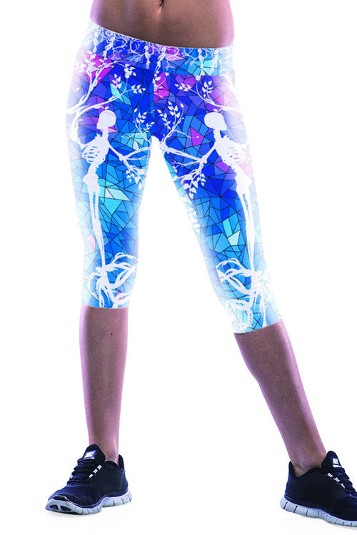 Leggings - Corpse Bride Printed Leggings - Epic Leggings