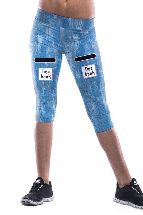 Leggings - Cool Blue Bank Leggings - Epic Leggings