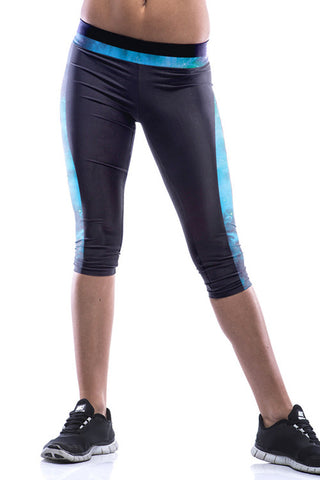 Leggings - Black Edge Galaxy Leggings - Epic Leggings