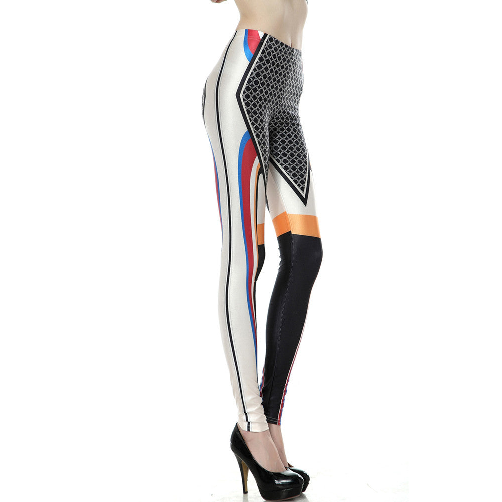 Leggings - Abstract Pattern Leggings - Epic Leggings