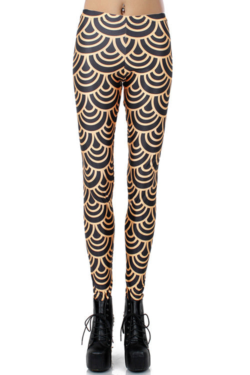 Leggings - Black Groundling Legings - Epic Leggings