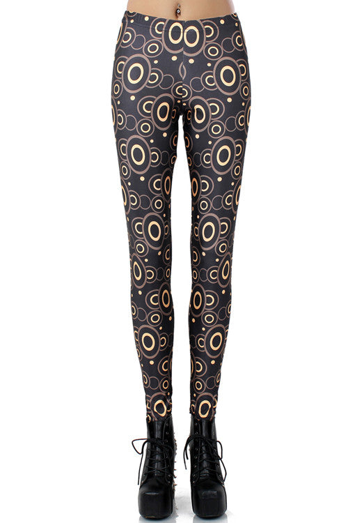 Leggings - Circle Overall Leggings - Epic Leggings