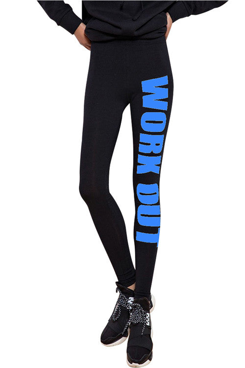 Leggings - Black Work Out Leggings - Epic Leggings