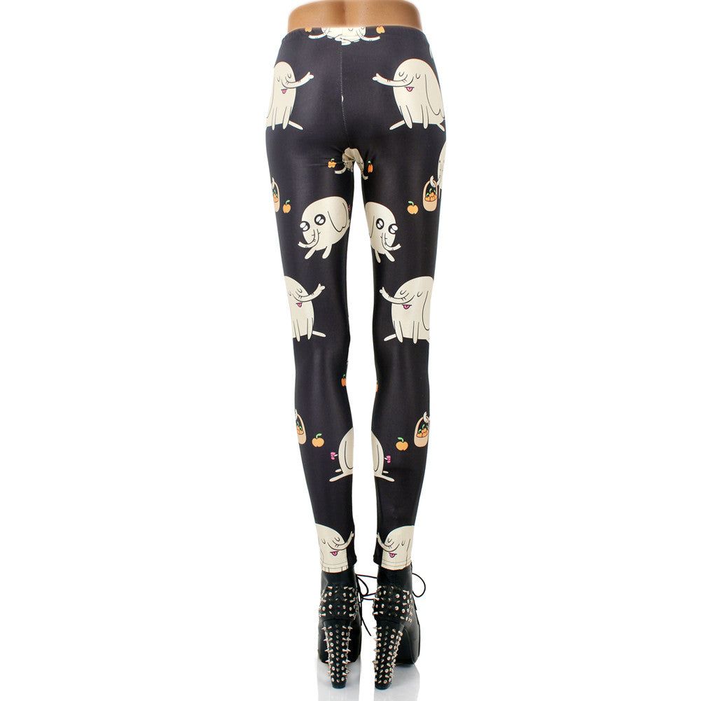 Leggings - Black Elephant Leggings - Epic Leggings