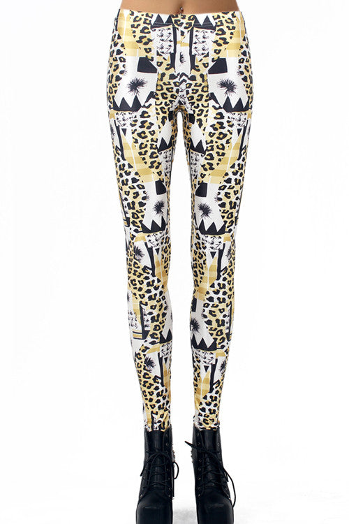 Leggings - Lucky Leopard Print Leggings - Epic Leggings