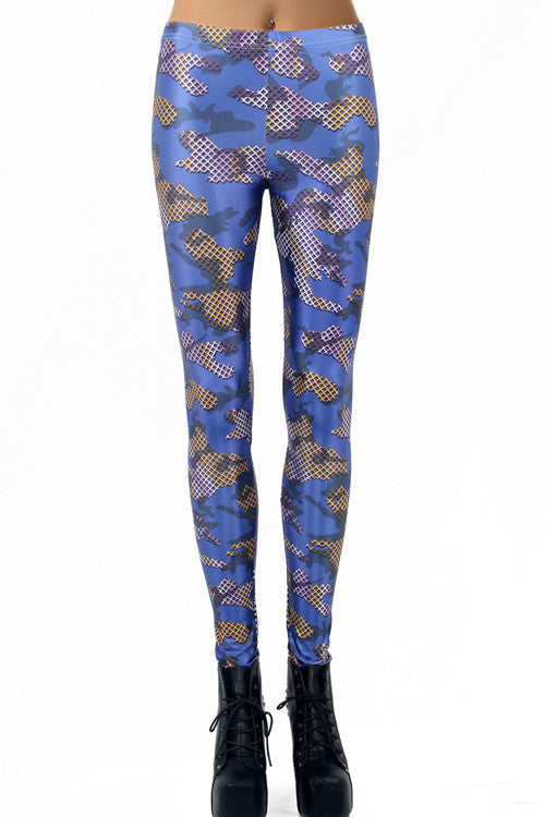 Leggings - Massive Gridding Pattern Leggings - Epic Leggings