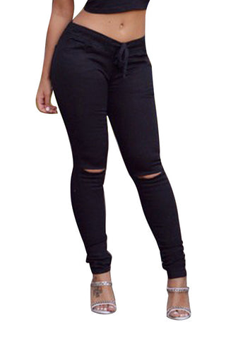Leggings - Black Casual Leggings - Epic Leggings