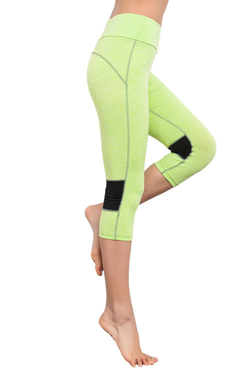 Leggings - Light Green Fitness Leggings - Epic Leggings