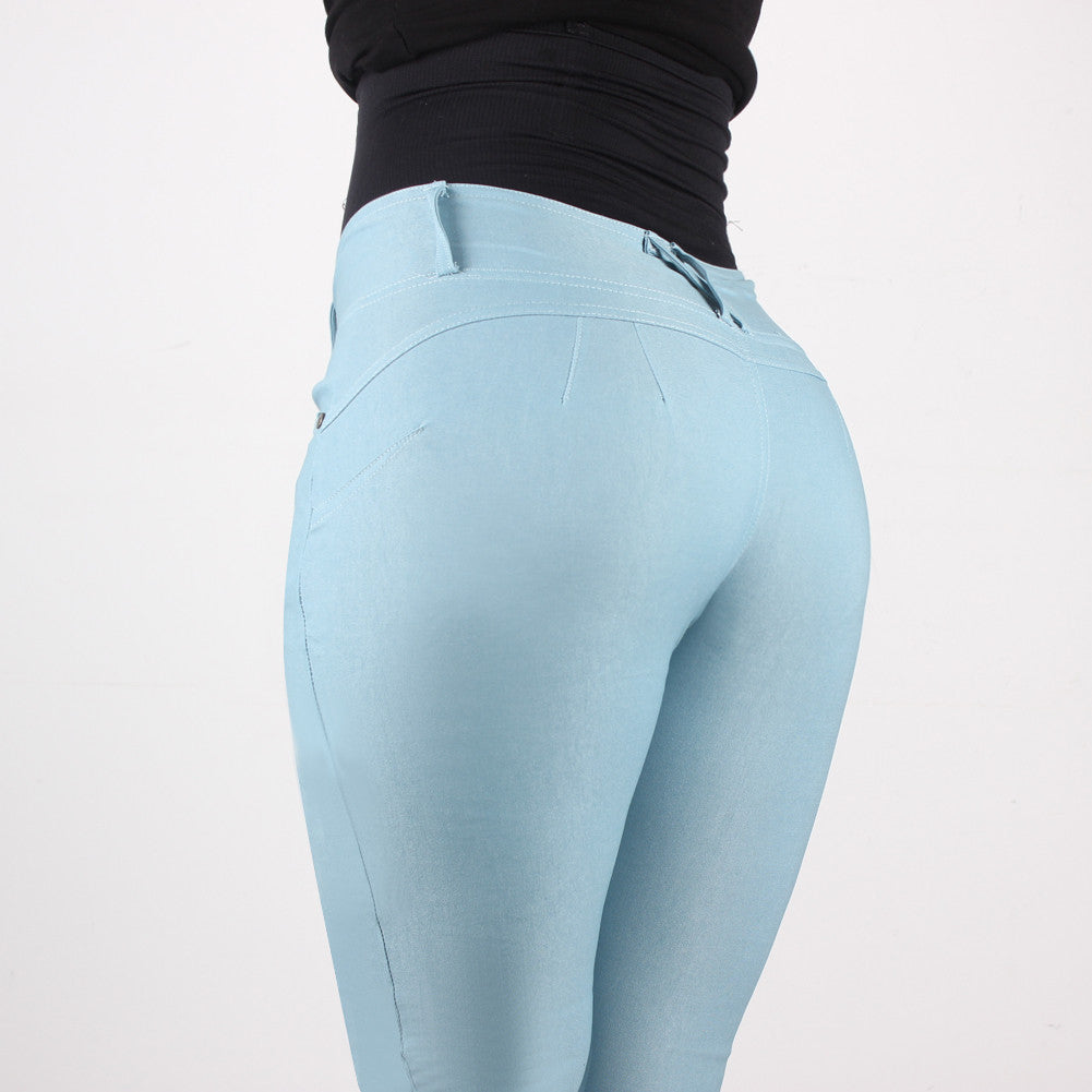 Leggings - Blue Woman Jeans - Epic Leggings