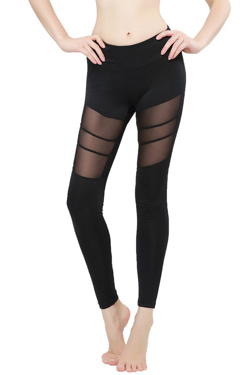 Leggings - Black Yoga Pants - Epic Leggings