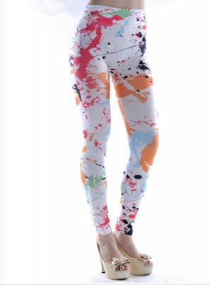 Leggings - Messy Paint Leggings - Epic Leggings