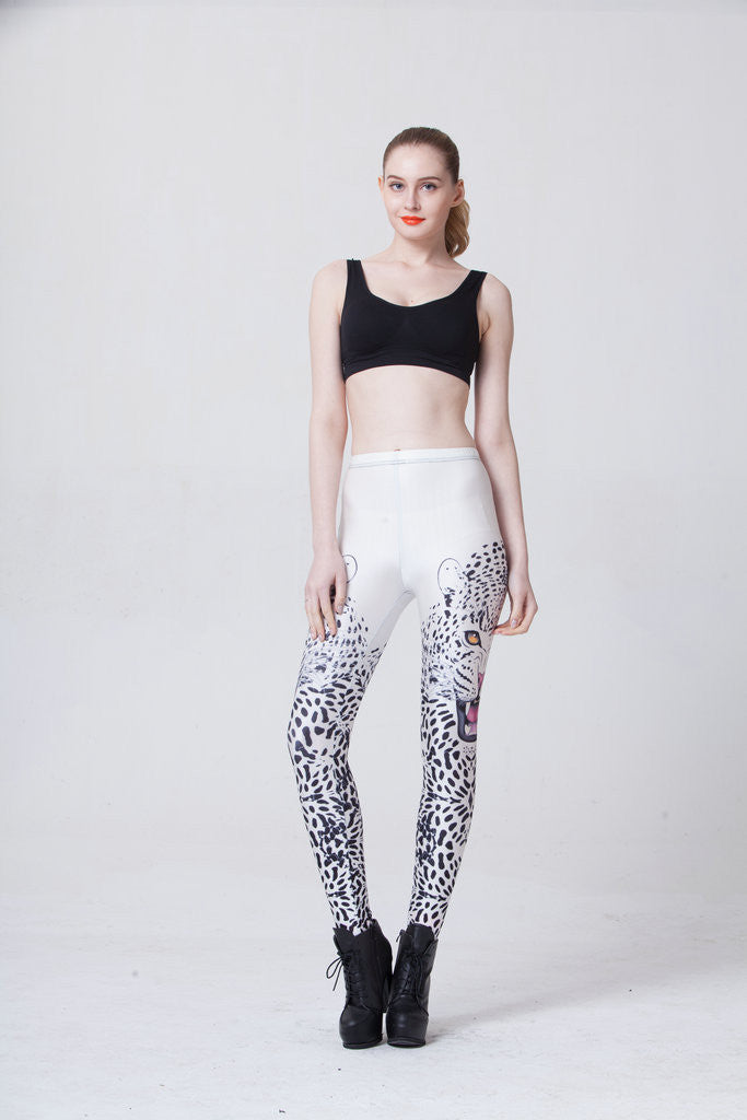 Red Eye Leopard Leggings