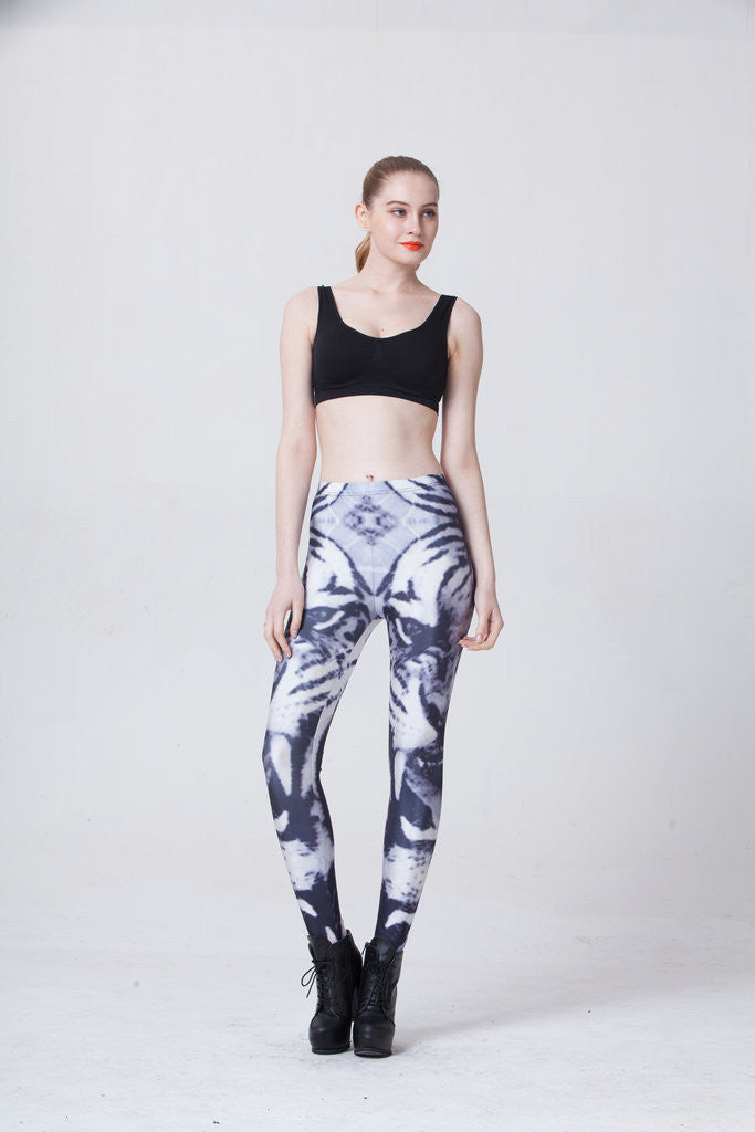 Tiger Sketch Leggings